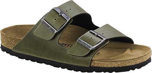 Birkenstock Arizona Birko-Flor, Mules Mixte Adulte Pull UP Olive