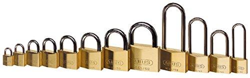 Abus – 65/50 50mm HB80 Brass Padlock Lange Schäkel Carded – ABU6550LSC - 3