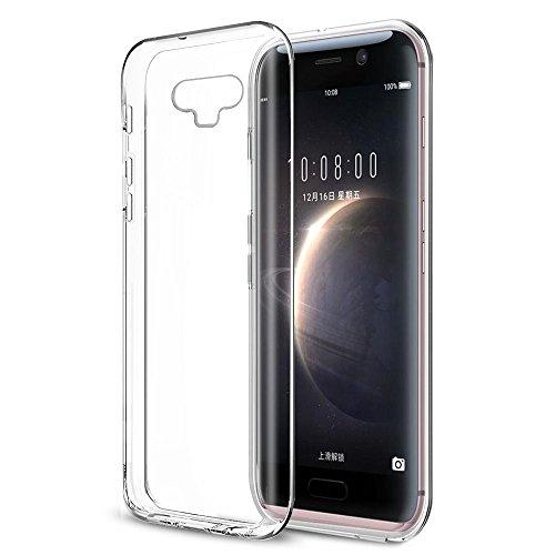 Huawei Honor Magic Hülle, Orlegol Durchsichtige Rückschale und TPU-Bumper Weiche Silikon Schutzhülle für Huawei Honor Magic - Transparent
