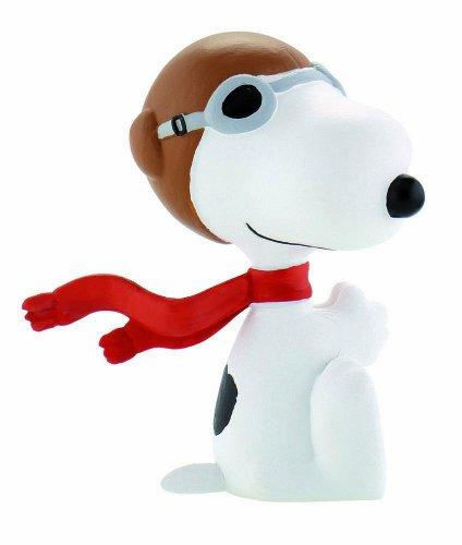 Peanuts Figur Flying Ace Snoopy 5 Cm (Standard-größe Billardtisch)