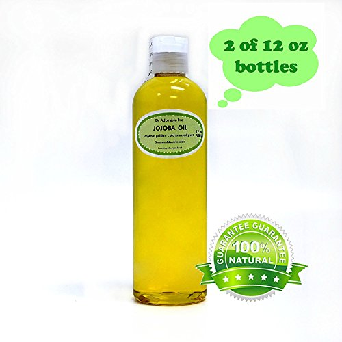 Jojoba Oil Great for Skin Hair Face & Nails Lips Cuticles Stretch Marks Beard 24 oz
