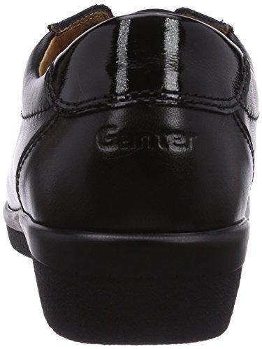 Ganter - Sensitiv Inge, Weite I, Scarpe Stringate Basse da donna grigio (Grau  (schwarz 0100))