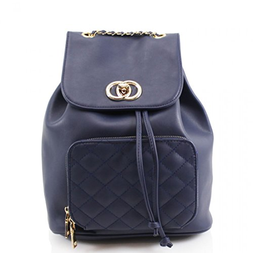 Craze London, Borsa a zainetto donna M Navy