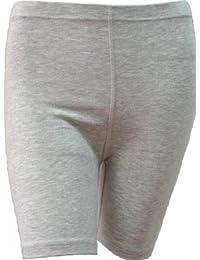 femmes plus des shorts de cyclistes de taille sur toute la longueur de pantalon chaud genou legging collants