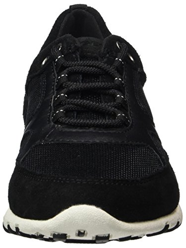 Geox Damen D Freccia A Sneaker Schwarz (blackc9999)