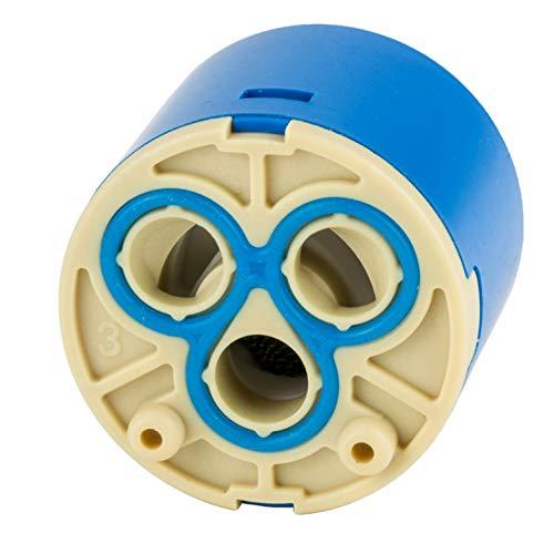 einhebelmischer kartusche Keramik-Kartusche 35 mm für Armaturen Ersatzkartusche Einhebelmischer Wasserhahn Kartusche Ersatz