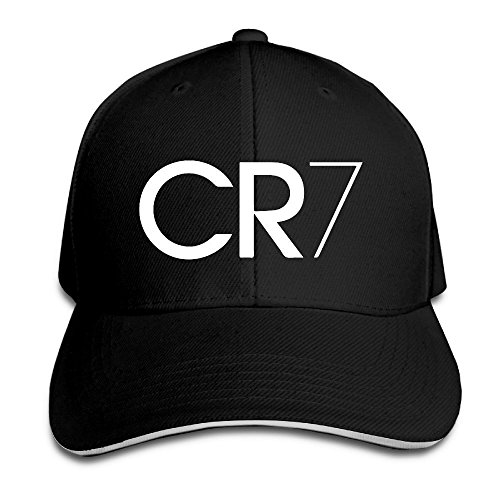 Trithaer Custom CR7 Logo Adjustable Sandwich Hunting Peak Hat & Cap