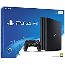 PlayStation 4 Pro (PS4) - Consola, Color Negro