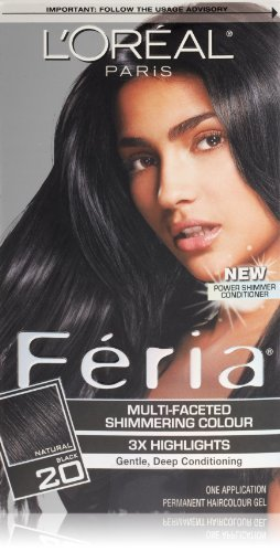 feria-hair-color-20-natural-black-packaging-may-vary-by-loreal-paris