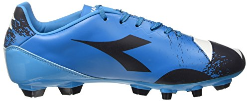 Diadora Herren Dd-na4 R Lpu Fußball-Trainingsschuhe Nero (Nero Fumo/Blu Fluo)