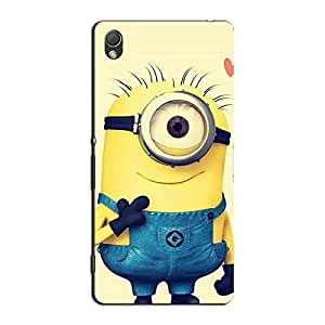 CUTE CARTOON BACK COVER FOR SONY XPERIA Z3