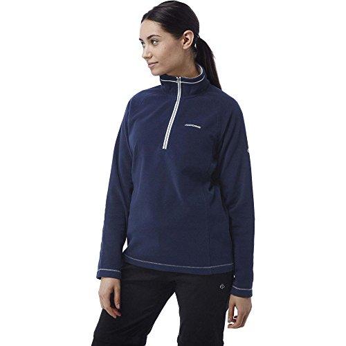 craghoppers-womens-seline-half-zip-microfleece-pullover-top-night-blue-size-18