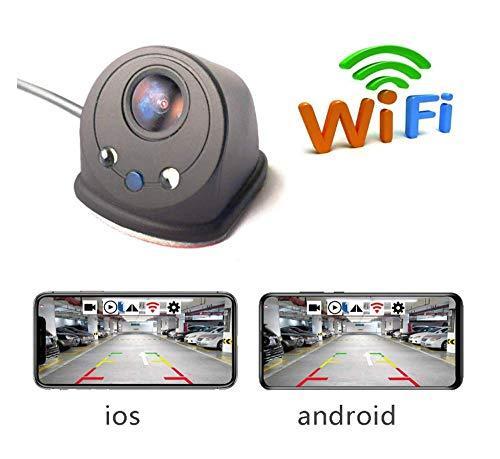 ZHY Auto-Seitenkamera, Mit LED-Sensor Licht Nachtsicht Deutlicher 170 ° Kein Blinder Bereich Perspektive Design Million HD-Video Für Ios/Android Smart Device-Anwendung Video Auto Iris