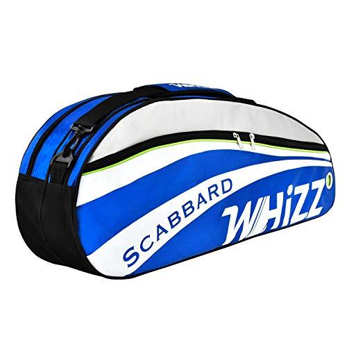 Whizz Badminton Squash Tennis Schlägertasche Hülle Racquet Bag - Blau