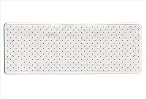 Toyma 115-blanco Tapis de bain Blanc 97x 36