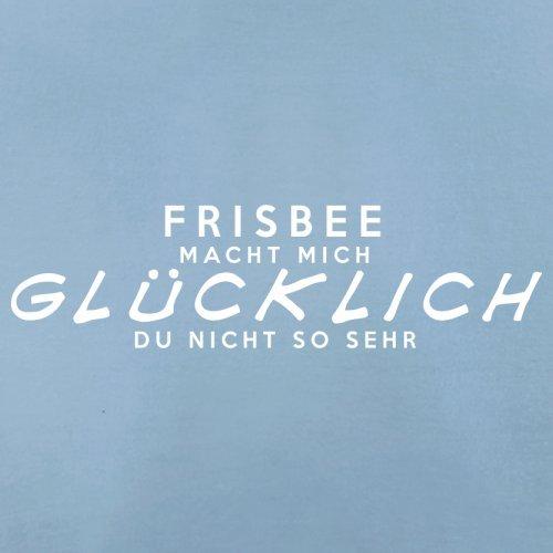 Frisbee macht mich glücklich - Herren T-Shirt - 13 Farben Himmelblau