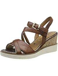 12bd2f74c5f9 Tamaris Women s 1-1-28349-22 Ankle Strap Sandals