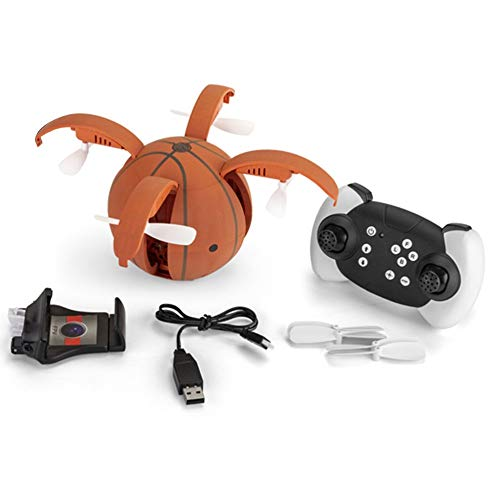 mimagogy X45-1 RC Drone Kamera 480P 2.4Ghz WiFi FPV Faltbare Drohnen G-Sensor - Basketball Der Smart Sensor