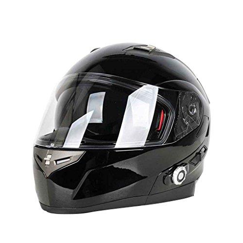 Seguridad de la motocicleta cascos de moto Despliegue dual viseras de