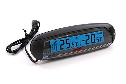 Preisvergleich Produktbild Alpin Innen-/Außenthermometer, schwarz