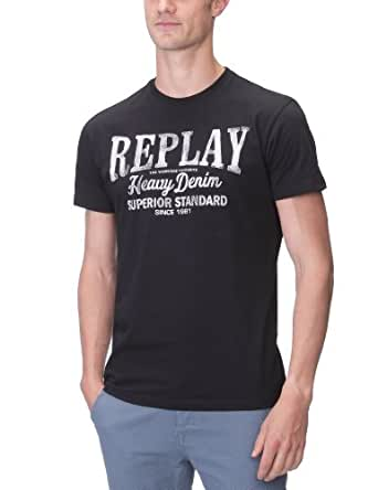 Replay Herren T-Shirt M3197 .000.2660