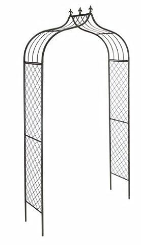 Gardman 2.4 x 1.2m 2.4m x 1.2m Versailles Metal Arch