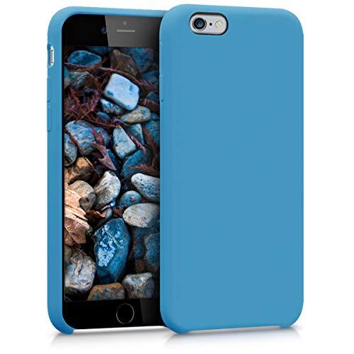 kwmobile Apple iPhone 6 / 6S Hülle - Handyhülle für Apple iPhone 6 / 6S - Handy Case in Azurblau