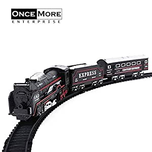 ONCEMORE by New Train Toy with Track Set