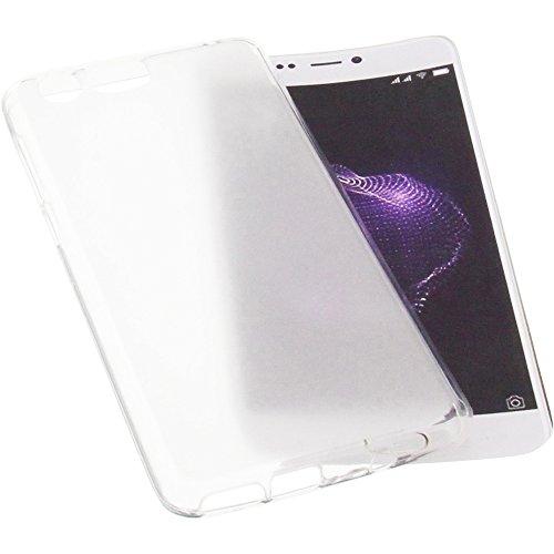 foto-kontor Tasche für Allview X4 Soul Lite Gummi TPU Schutz Handytasche transparent weiß