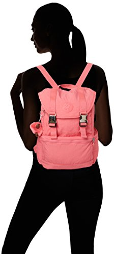 Kipling Damen Experience S Rucksack, 26x32x0.1 cm Pink (City Pink)