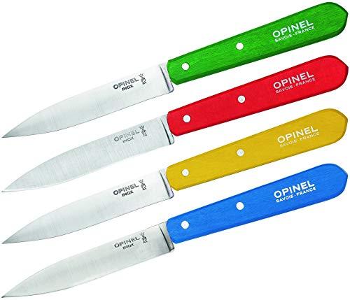 Opinel OP01233 Cuchillo tascabile,Unisex - Adultos, Verde, un tamaño