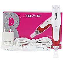 Derma Pen Microagujas Agujas sello 0.25 mm-2.0 mm ajustable (profesional dispositivo principal +