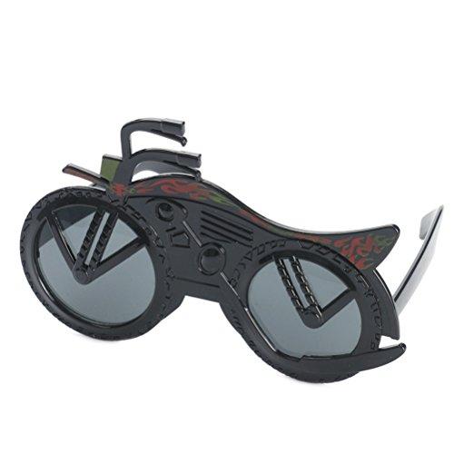 Good Night Mode Motorrad geformte Sonnenbrille Party Kostüme Gläser Requisiten