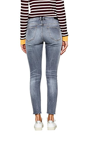 edc by Esprit, Jeans Femme Gris (Grey Medium Wash 922)
