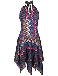 Coline-vestido corto asimétrico, ...