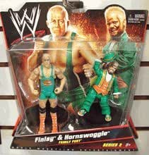 WWE Mattel Catch Figurine x 2 - Series 2 Finlay and Hornswoggle