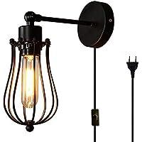 suchergebnis auf f r wandleuchte mit stecker und kabel beleuchtung. Black Bedroom Furniture Sets. Home Design Ideas
