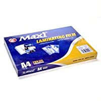 MAXI LAMINATING FILM-A4 PACKING:100PCS/PKT 216X303MM