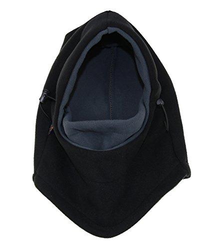 ZZLAY Balaclavas Hut Doppelschichten verdicken Kappen Winter vielseitig Hals warme Fleece Ski Gesichtsmaske