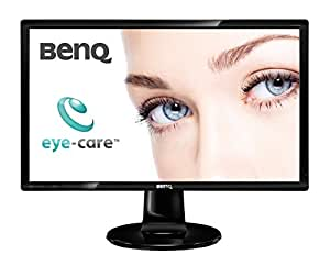 BenQ GL2460 24 inch LED TN Monitor (1920 x 1080, Thin Bezel, 12M:1, 2 ms GTG, 1000: 1) - Glossy Black