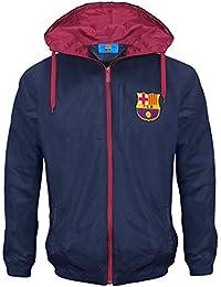 Regalo para hombre Barcelona F.C, producto oficial de balón de fútbol Chaqueta impermeable y de la ducha (£39,99 con diseño de Liverpool!) cortavientos