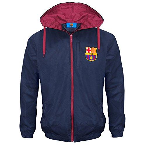FC Barcelona - Herren Wind- und Regenjacke - Offizielles Merchandise - Geschenk...