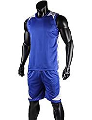 a5ace46668cc1 Lixada Uniformes de la Camisa de Baloncesto Conjunto Ropa Deportiva Sin  Mangas