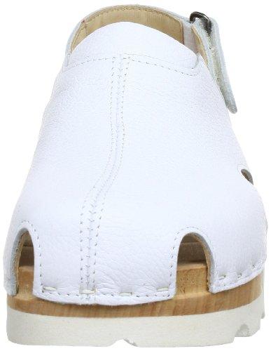 Woody 222/23H, Mules homme Blanc (Sport Nappa Weiß)