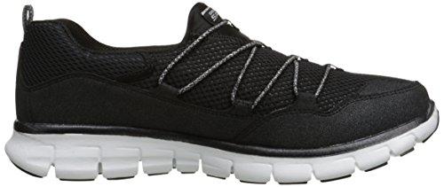 Skechers Sport Inner Peace Fashion Sneaker Black/White