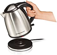 Hamilton Beach 40995-IN 1-Litre Stainless Steel Electric Kettle (Silver)