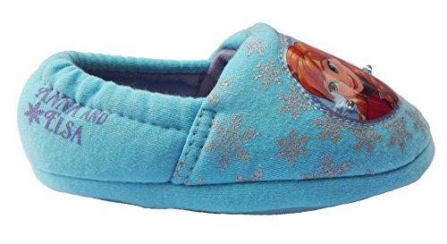 Kinder Frozen Schuhe Für (Disney , Mädchen Hausschuhe, - Aqua/Frozen - Größe: 25)