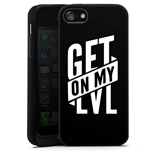 Apple iPhone 7 Plus Silikon Hülle Case Schutzhülle Montanablack Fanartikel Merchandise Get On My Level Schwarz Tough Case matt