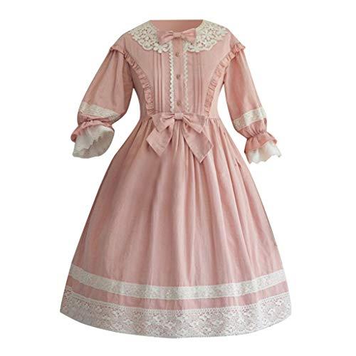 Allence Damen Cosplay Kostuem Lolita gotische Kleider Abendkleider - Klassische Hexe Für Erwachsene Plus Kostüm