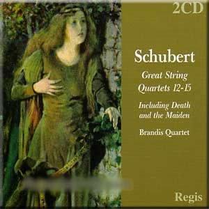 Price comparison product image Schubert - Great String Quartets 12-15 -Brandis Quartet (2 CD Set)